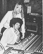 Mark and Larry working together in the studio ca 1980